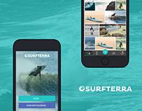 Surfterra - Surf Session Log