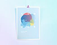 Poster Event Summer Gang // WORK IN PROGRESS