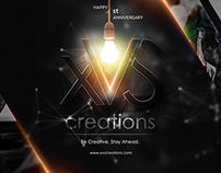 Happy 1st xVS creations anniversary