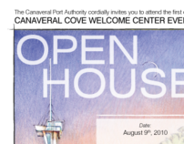 Open House Direct Mail Invitation