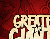 Greater Than Giants 'High Stakes' album artwork