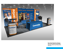 Concentra Recruiting Trade Show Display