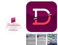 Dendatan iOS app + Visual identity