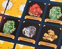 Jogo da Memória: Pigmentos Minerais