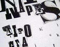 Naipes Tipográficos