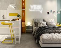 20m² Airbnb Studio Apartment