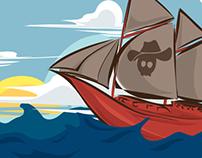 Pirates Radio Mini Album Package