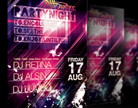 PSD Amazing Party Flyer (High Quality)