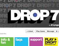 Drop7: Facebook Fan Page
