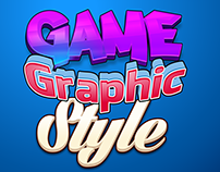 Jump set game graphic style