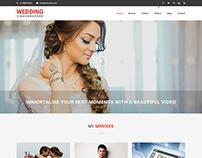 Wedding Videographer WordPress theme