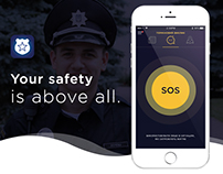 "Mobile app ""My Police"" UI/UX Design"
