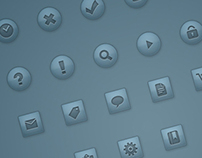 Transparent & Vector Web Icon Set