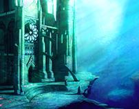 Sinking castle
