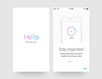 To Do Task Organization App UI/UX Design