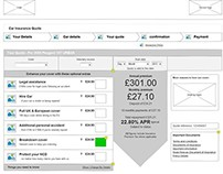 Axure Wireframes, Flowcharts & Folder Maps