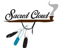 Sacred Cloud logo design