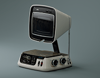 ▼▲ Once In A While Renders № 44 JVC Video Capsule TV