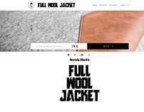 Full Wool Jacket