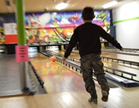 Valentine's Day Bowling Party Photos