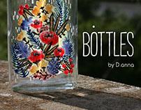 Bottles. DIY.