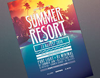 Summer Resort Flyer