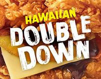 KFC Hawaiian Double Down