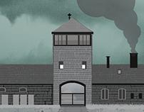 Holocaust Exhibition Poster design