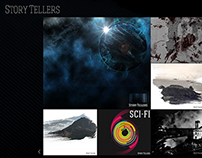 Story Tellers - Website graphics