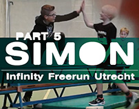 Video: Simon training by Infinity FreeRunning - Part 5