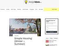 simple housing (winter - summer) on designideas.pics