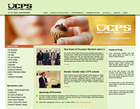 UCPS Website Design