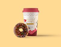 Tamp Cafe Qatar   Branding & Packaging