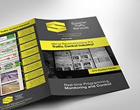 Podniková brožúra dizajn na mieru pre konštrukčnú firmu
