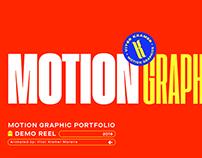 Motion Graphics // Portifolio 2019