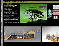 Brazil Fair Stand Project