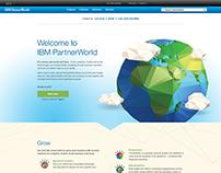 IBM Partner World Landing Page