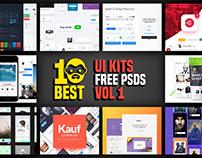 10 Best UI Kits Free PSD
