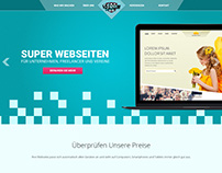 Super Web - Swiss web design poject
