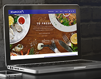 REMINGTON'S SEAFOOD GRILL WEB DESIGN