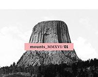 MOUNTS COLLECTION (c) quim deu mmxvi-i