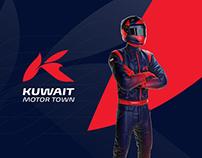 Kuwait Motor Town - Brand Identity Design