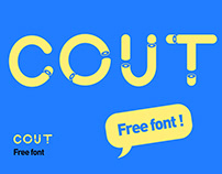 Cout - Free Font
