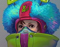 Miu and her robots