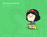 illustration Snow White