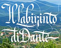 """""""Labirinto di Dante"""" — calligraphic performance"""