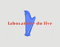 Laboratoire du Live - Identity & Webdesign
