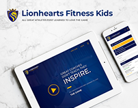 Fitness Education Website - Lionhearts Fitness Kids