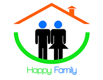 Logo Design / Happy Family