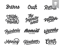 Lettering & Logotype Vol.3